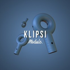Free 3D printer file klipsi, TristanM