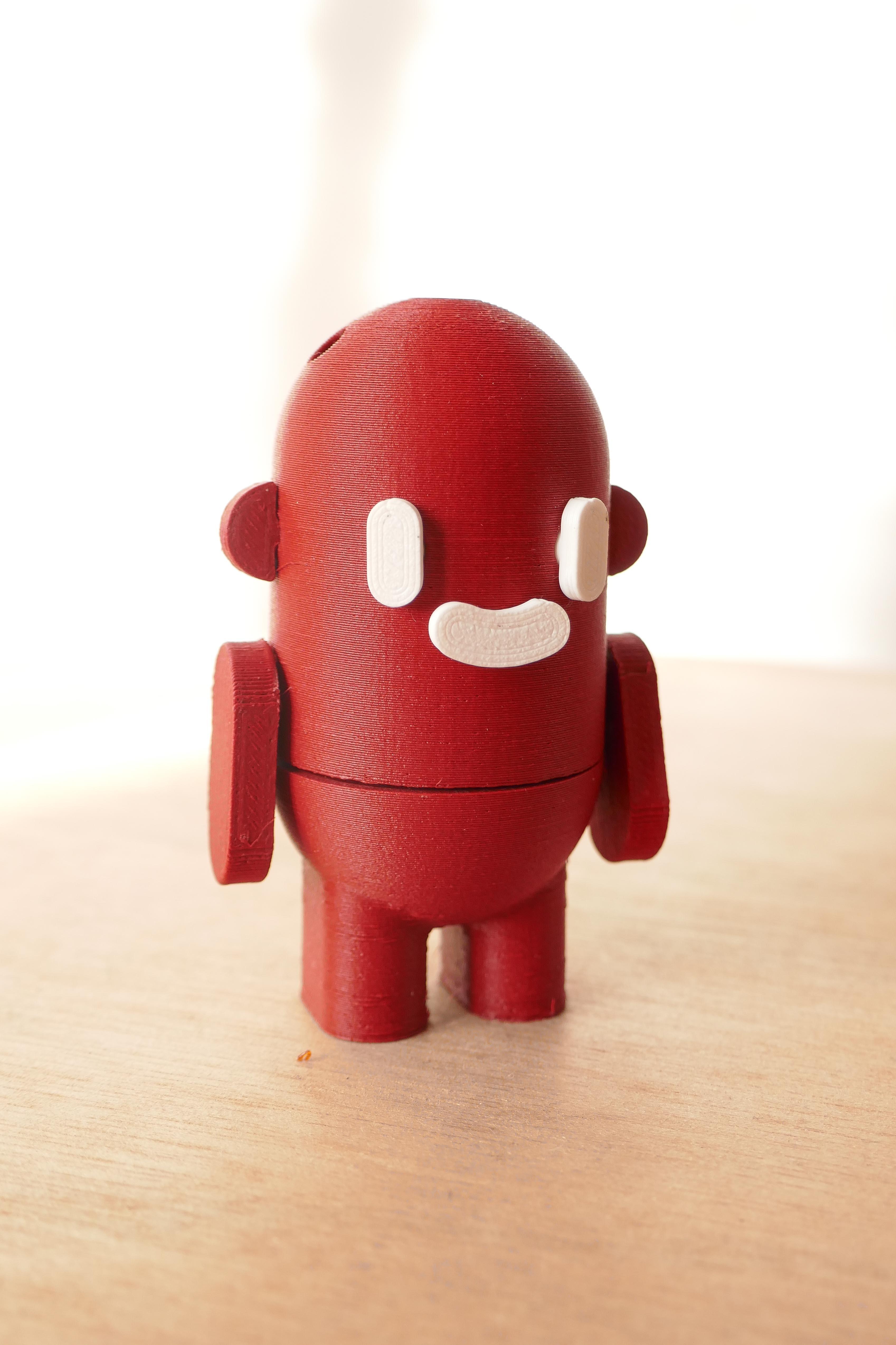Click and smile_FIGURINE STARTER PACK_studio klipsi_2020 (1 sur 20) (7).jpg Download free STL file Action figure - CLICK & SMILE - Starter pack • Model to 3D print, StudioKlipsi