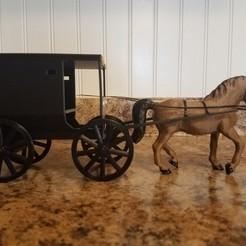 Descargar modelos 3D gratis Buggy Amish, Jack64
