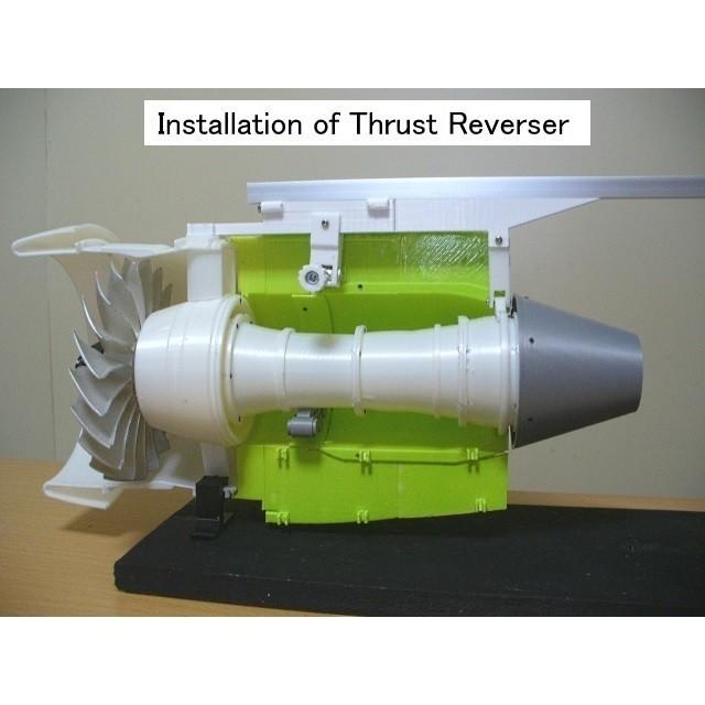 C08-Reverser-Beam02.jpg Download STL file Thrust Reverser with Turbofan Engine Nacelle • 3D printable model, konchan77