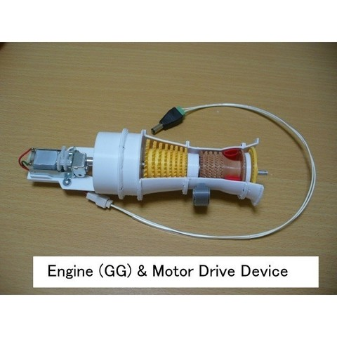 05-GG-Motor-Assy101.jpg Download STL file Propfan Engine, Pusher Type using with Planetary Gearbox • 3D printer template, konchan77