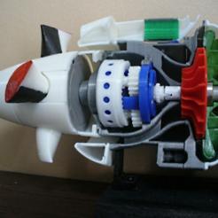 Impresiones 3D gratis Hélice de Turbohélice, konchan77