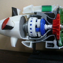 archivos stl Turboprop Propeller gratis, konchan77