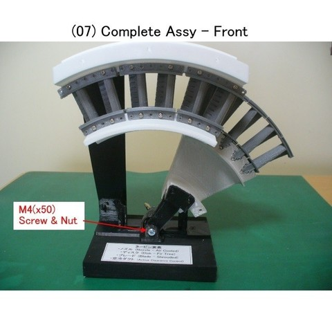 07-Complete-Assy01.jpg Download STL file Jet Engine Component (2); Axial Turbine • 3D print template, konchan77