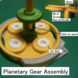 Capture d'écran 2017-10-03 à 18.55.42.png Download free STL file Main Gear Box, Helicopter driven by 2-Engines • Object to 3D print, konchan77