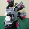 Download 3D printing templates Radial Engine, 7-Cylinders, Cutaway, konchan77