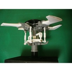 3D print model Main-Rotor-Head, for Helicopter, Fully Articulated Type, konchan77