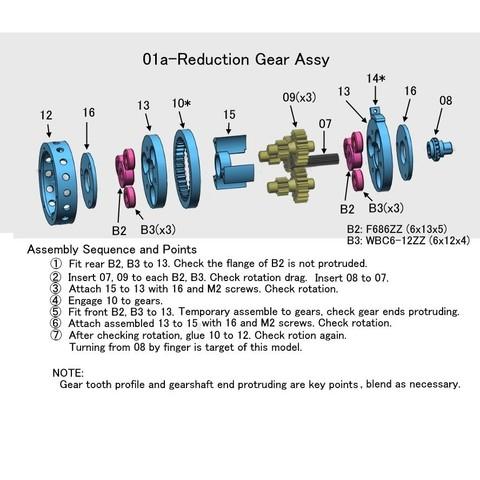 01a-Reduction Gear001.jpg Download free STL file Turboprop Engine • 3D printable model, konchan77