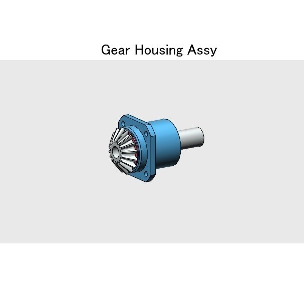 01-Gear-Hsg-Assy01.jpg Download STL file Tail Rotor for Single Main Rotor Helicopter • Object to 3D print, konchan77