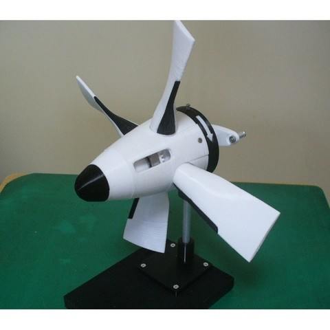 Download 3D printer designs Jet Engine Component (3-1); Propeller, Gear type, konchan77