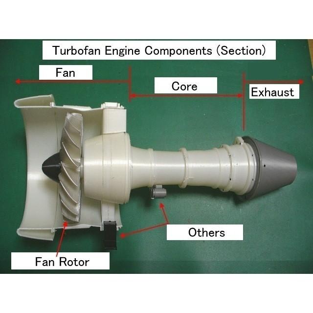 C02-Eng-Components01.jpg Download STL file Thrust Reverser with Turbofan Engine Nacelle • 3D printable model, konchan77