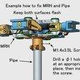 Descargar modelo 3D Cabeza de motor principal, para helicóptero, totalmente articulada, konchan77