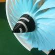 Free 3D print files Optional Spinner for Jet Engine, 3-Spool, konchan77