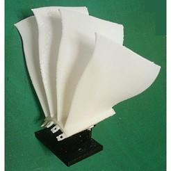 Descargar archivo STL gratis Componente del motor a reacción (5-3); ventilador, tipo Blisk • Modelo para la impresión en 3D, konchan77