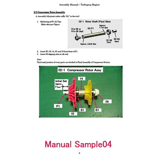 TURBOPROP ENGINE ASSEMBLY MANUAL (Option)