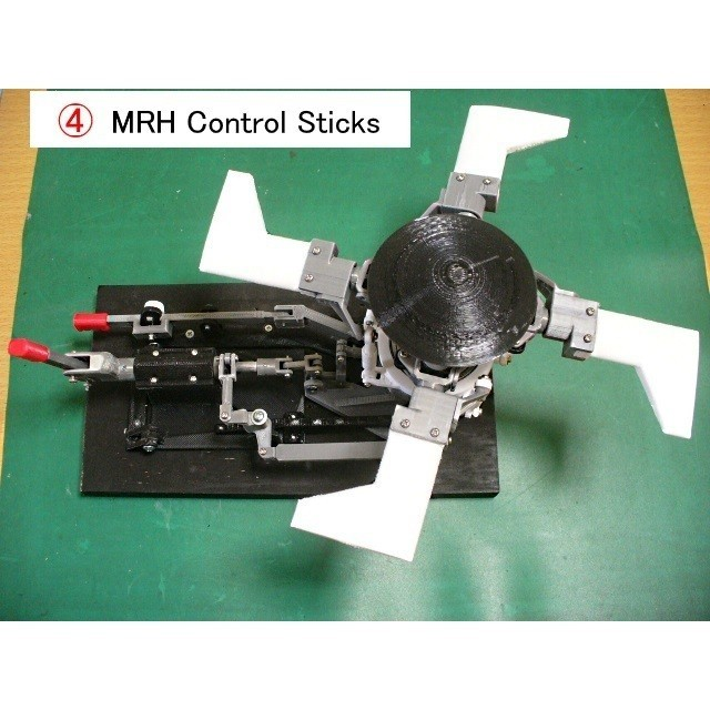 04-Final-Stick-Assy01.jpg Download free STL file Helicopter Power Train for Single Main Rotor • 3D printer design, konchan77