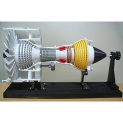 Descargar archivo STL Motor a reacción; 2-piscina, corriente, grande • Modelo imprimible en 3D, konchan77