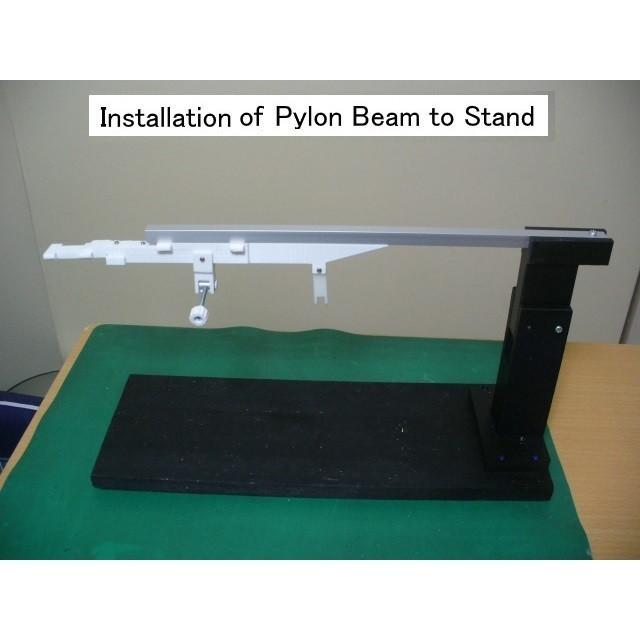 C01-Pylon-Beam-Stand 01.jpg Download STL file Thrust Reverser with Turbofan Engine Nacelle • 3D printable model, konchan77