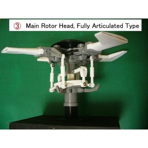 03-MRH-Assy01.jpg Download free STL file Helicopter Power Train for Single Main Rotor • 3D printer design, konchan77
