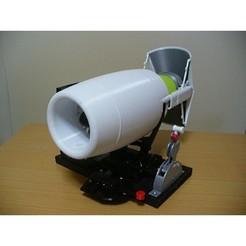 STL files Thrust Reverser for Business Turbofan, Bucket Type, konchan77