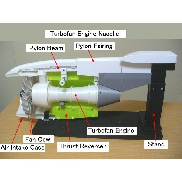 C11-Nacelle-Assy01.jpg Download STL file Thrust Reverser with Turbofan Engine Nacelle • 3D printable model, konchan77