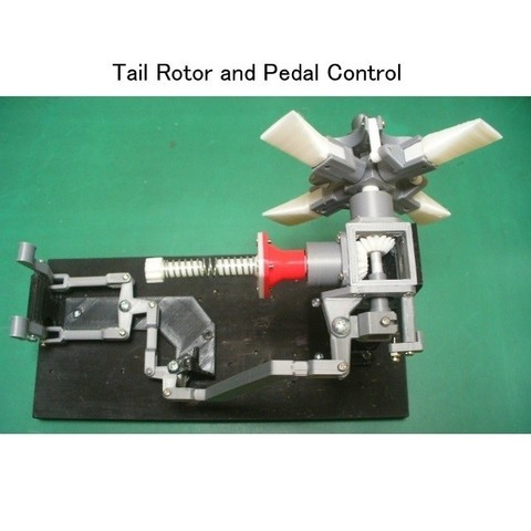 00-TGB System01.jpg Download STL file Tail Rotor for Single Main Rotor Helicopter • Object to 3D print, konchan77