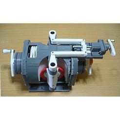 00-CSD-Assy01.jpg Télécharger fichier STL Composant de moteur à réaction (11) : CVT(CSD), Type toroïdal • Modèle imprimable en 3D, konchan77