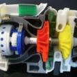 Descargar archivo 3D gratis Motor de Turbohélice, konchan77