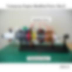 Comp-IGV-Case101ws.stl Download free STL file Turboprop Engine Modified Parts (No.2) • 3D printable design, konchan77