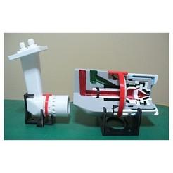 Descargar archivo STL Componente del motor a reacción; boquilla de combustible, tipo dúplex • Modelo imprimible en 3D, konchan77