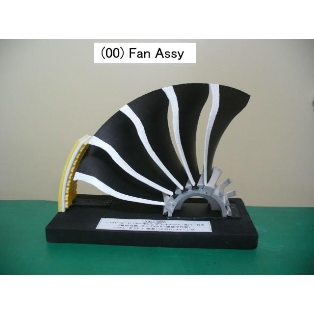 00-Fan Assy01.jpg Download free STL file Jet Engine Component (5); Fan • Template to 3D print, konchan77