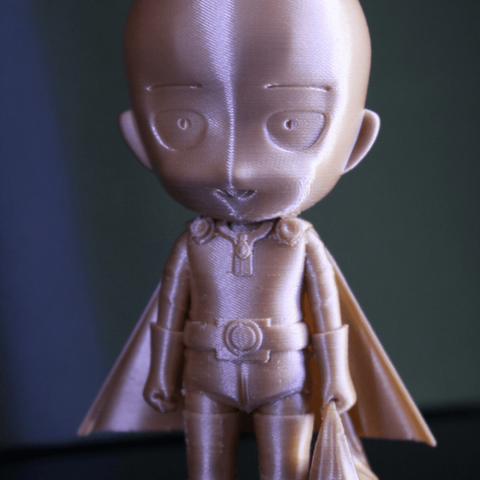 Free 3D printer files One Punch Man, ROYLO