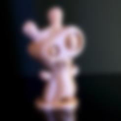 Free Spawny 3D model, ROYLO