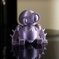 Download free 3D printer files Laputa Q Robot, ROYLO