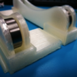 """Free 3D printer files Add-on to """"TUSH - The Ultimate Spool Holder"""", ShockyBugs"""