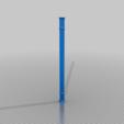 Rod.png Télécharger fichier STL gratuit Perchoir à oiseaux (crochet sur la porte de l'armoire) • Modèle imprimable en 3D, ShockyBugs