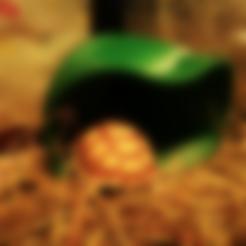 Free STL file Tortoise Shelter (without pole), ShockyBugs