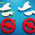 Free stl G-Bustr Logo (version 1) for Single Extruder, ShockyBugs