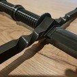 Descargar archivos 3D gratis Remake de Espada Witcher 3, Adhan