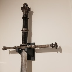 Download free STL Witcher Sword , Adhan
