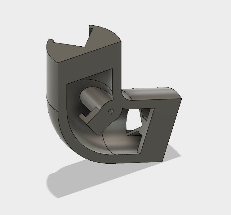 0004.JPG Download STL file LED ceiling light • Model to 3D print, tomcasa