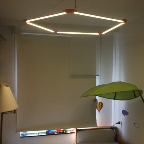 Modèle 3D plafonnier LED, tomcasa