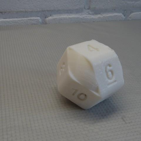 DSC05564.JPG Download STL file 10 Side dice • 3D print object, Adriaan