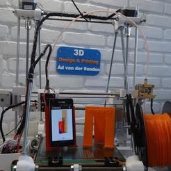Diseños 3D gratis Soporte para teléfono., Adriaan