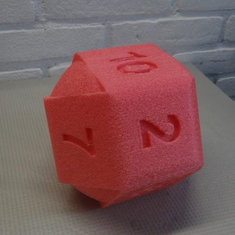 DSC05563.JPG Download STL file 10 Side dice • 3D print object, Adriaan