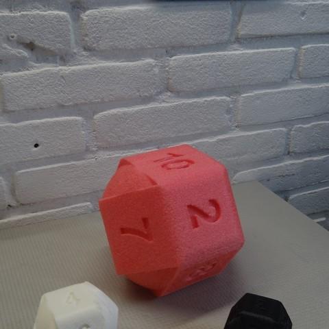 DSC05561.JPG Download STL file 10 Side dice • 3D print object, Adriaan