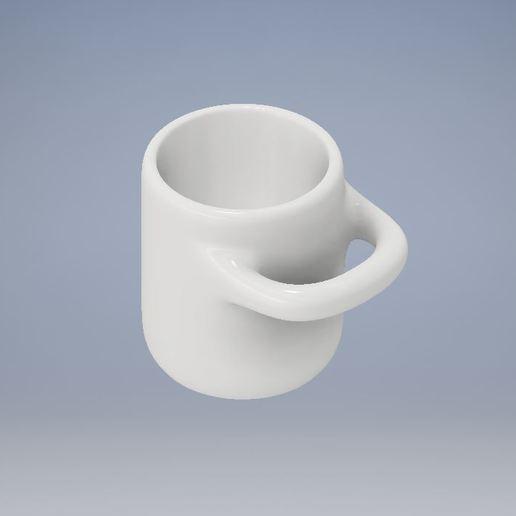 Download free 3D printing templates Uncomfortable Coffee Mug, Jdog