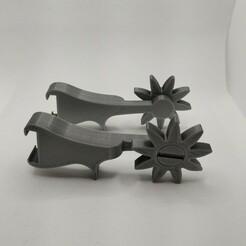 20210121_154130.jpg Download free STL file Croc Spurs • Model to 3D print, Jdog