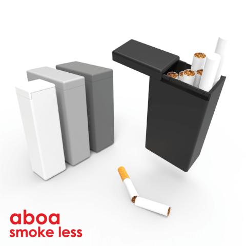Concours Cults 032019 - 1.png Télécharger fichier STL gratuit Aboa - Solution pour fumer moins et arrêter le tabac • Plan imprimable en 3D, jeromeelie