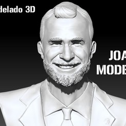 Download 3D printer designs King Felipe VI of Spain - King of Spain, JoacoKin